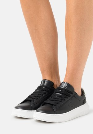 CHUNKY CUPSOLE LACEUP - Trainers - black