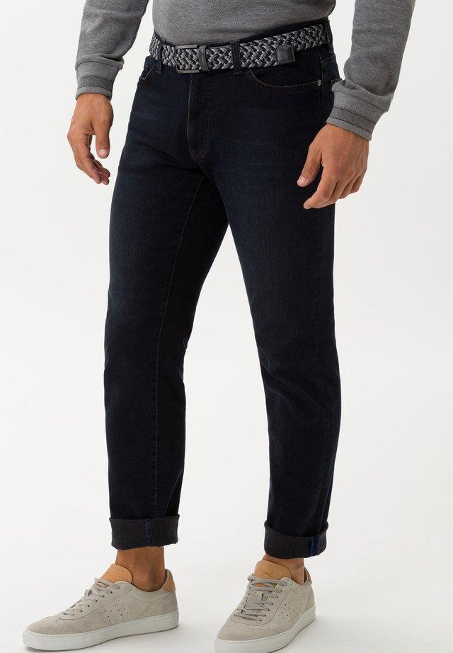 STYLE CADIZ - Jeans Straight Leg - blue sea