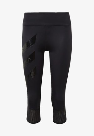 HOW WE DO  - 3/4 sports trousers - black