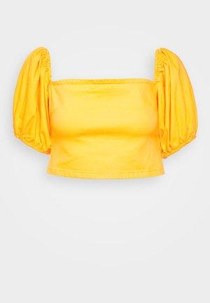 MILKMAID ZIP UP - Blusa - yellow