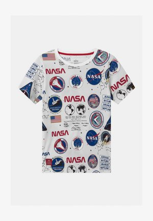 NASA  - Print T-shirt - white