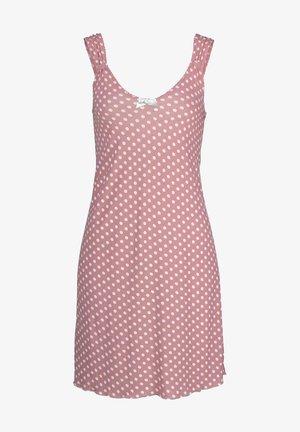 Nightie - rosa-gepunktet