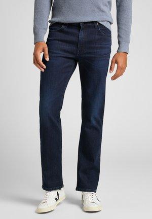 BROOKLYN - Straight leg jeans - asphalt grey/mid grey