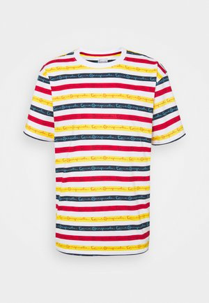 ORIGINALS STRIPE TEE - Print T-shirt - white