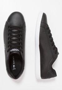 Lacoste - GRADUATE - Sneakers laag - black - 1