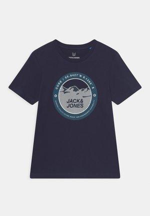 JCOBILO TEE CREW NECK JR - T-shirts print - navy blazer