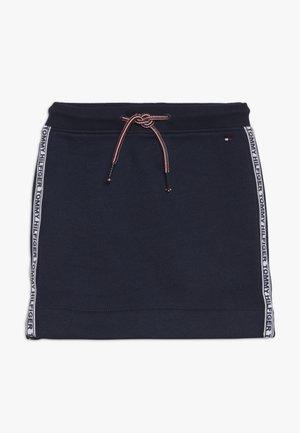 ESSENTIAL TAPE SKIRT - Mini skirt - blue