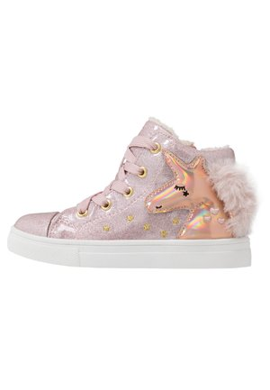 Sneaker high - lilac