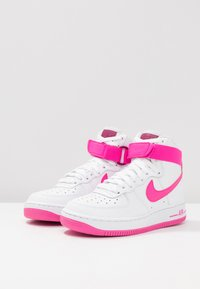 air force 1 high white fuchsia
