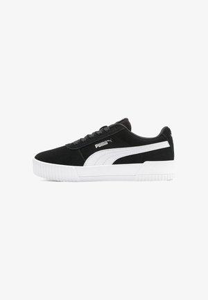 CARINA YOUTH - Sneakers laag - puma black-puma white