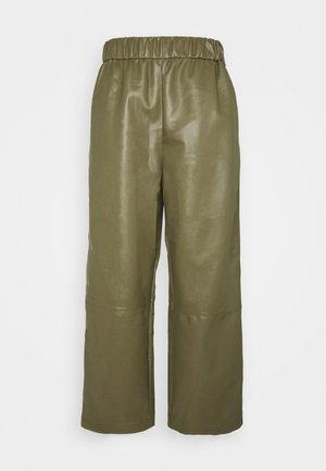 CELESTE TROUSERS - Trousers - khaki