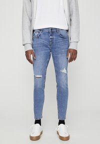 PULL&BEAR - Jeans Skinny Fit - stone blue denim - 0