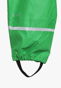 CeLaVi - BASIC RAINWEAR SUIT SOLID - Regnbukser - green - 5