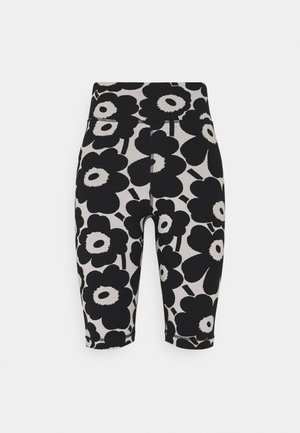KIOSKI RITSALLA UNIKKO - Shorts - off white/black