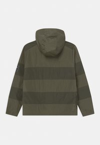 Nike Sportswear - AIR UNLINED ANORAK - Chaqueta de entretiempo - medium olive/cargo khaki - 1