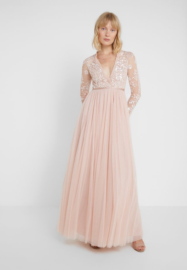 AVA BODICE DRESS - Suknia balowa - powder pink