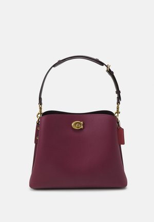 COLORBLOCK WILLOW SHOULDER BAG - Käsilaukku - black/cherry/multi