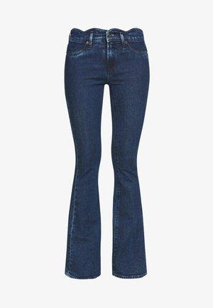 FARRAH WAVE OCEANB - Flared Jeans - blue