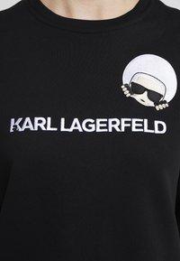 KARL LAGERFELD - DOTS IKONIK  - Sweatshirts - black - 5