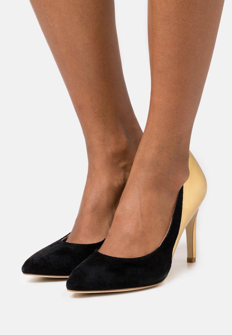 Anna Field - LEATHER - High heels - black