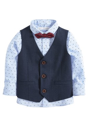 SET (3MTHS-7YRS) - Gilet - blue