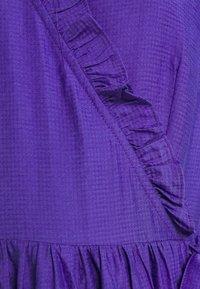 YAS - YASIRIS MIDI DRESS - Sukienka letnia - blue iris - 4