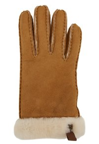 UGG - SHORTY GLOVE TRIM - Gloves - chestnut - 1