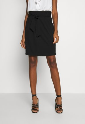 JDYTANJA PLEATED SKIRT - A-line skirt - black