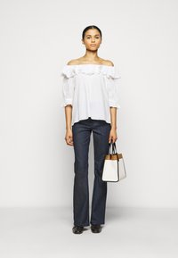 2nd Day - ELON THINKTWICE - Long sleeved top - bright white - 1