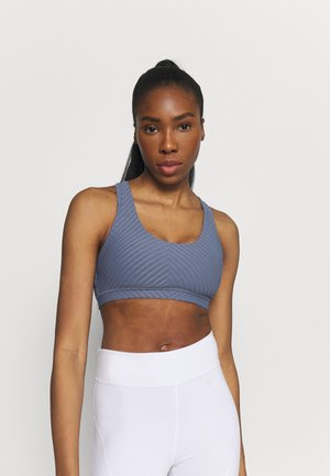 STRAPPY SPORTS CROP - Light support sports bra - blue jay