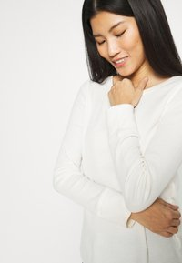 GAP - WAFFLE - Long sleeved top - ivory frost - 3