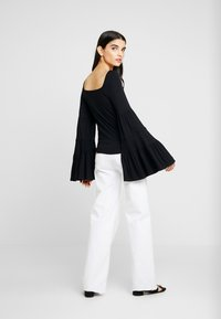 Free People - BABETOWN - Topper langermet - black - 2