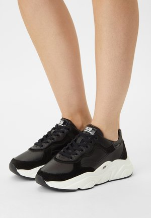 ROCK - Trainers - black/off white