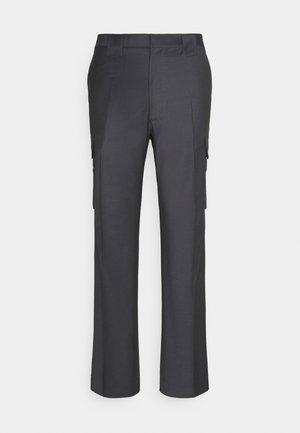 BRUCE TROUSERS - Cargo trousers - dark grey