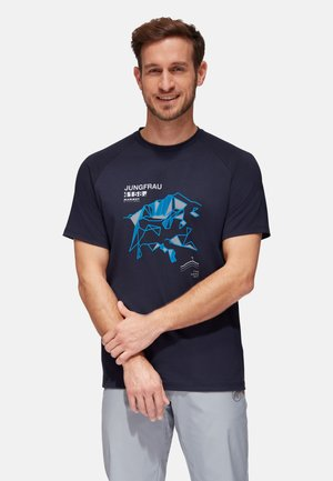 MOUNTAIN MEN - Print T-shirt - marine