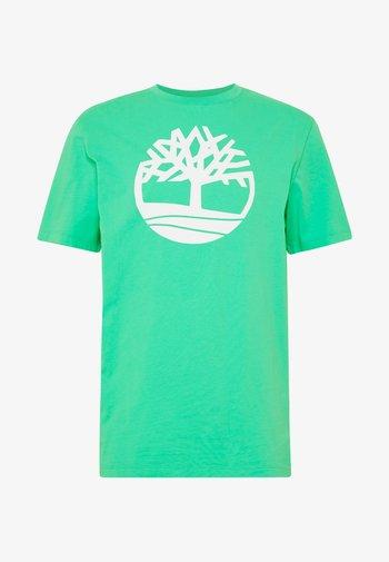 KENNEBEC - Print T-shirt - biscay green