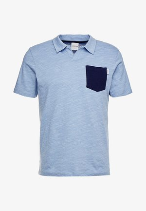 JCOZACH SLIM FIT - Polo - azure blue/melange