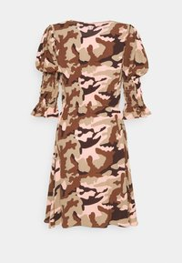 True Religion - Denní šaty - camouflage peach - 8
