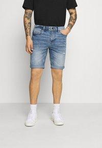 Only & Sons - ONSPLY LIFE BLUE  - Denim shorts - blue denim - 0