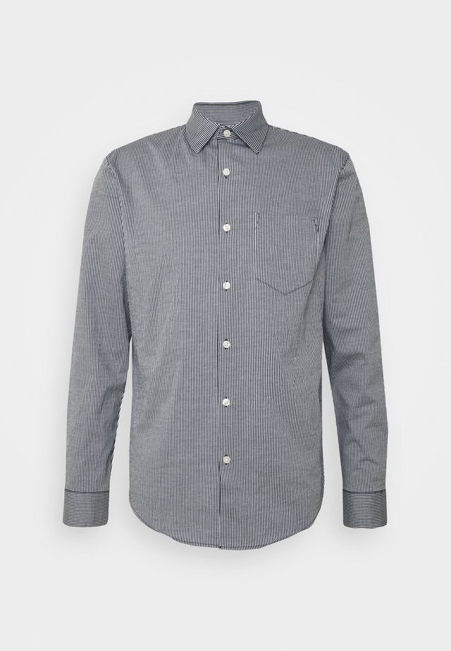 STRIPE  - Shirt - indigo