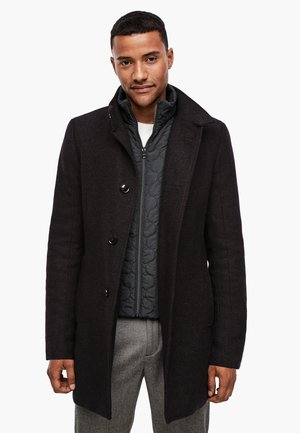 Short coat - brown melange