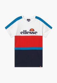 Ellesse - ARDINTA - Camiseta estampada - white/red/navy - 0