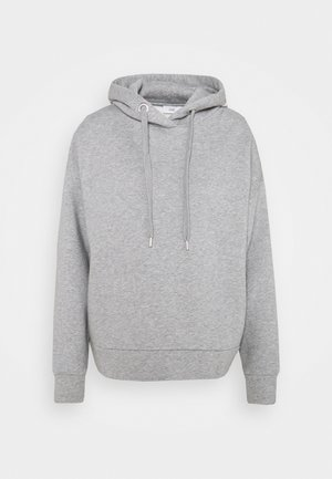 Collegepaita - grey heather melange