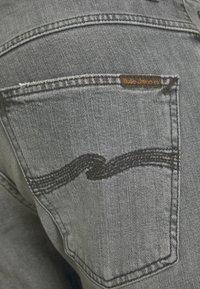 Nudie Jeans - GRIM TIM - Jeans slim fit - pale grey - 6