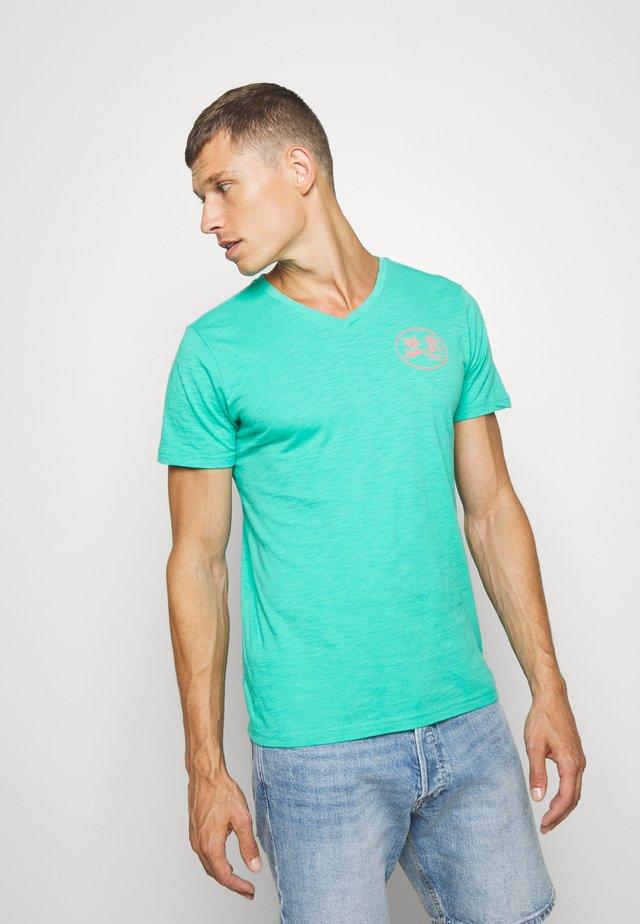 Camiseta estampada - light sea green