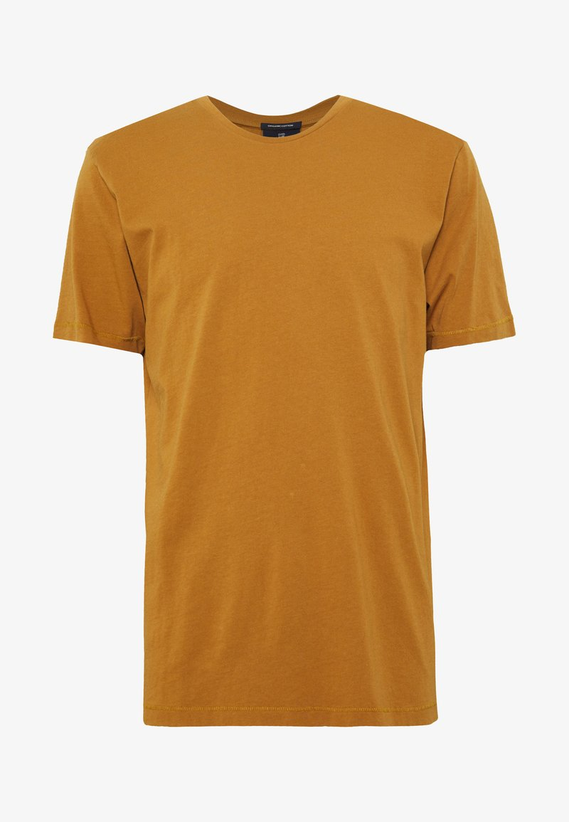 Scotch & Soda - SHORT SLEEVE TEE - T-shirt basic - tobacco