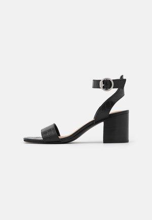 GIANELLA - Sandaler - black