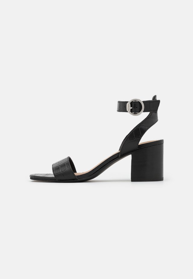 GIANELLA - Sandales - black