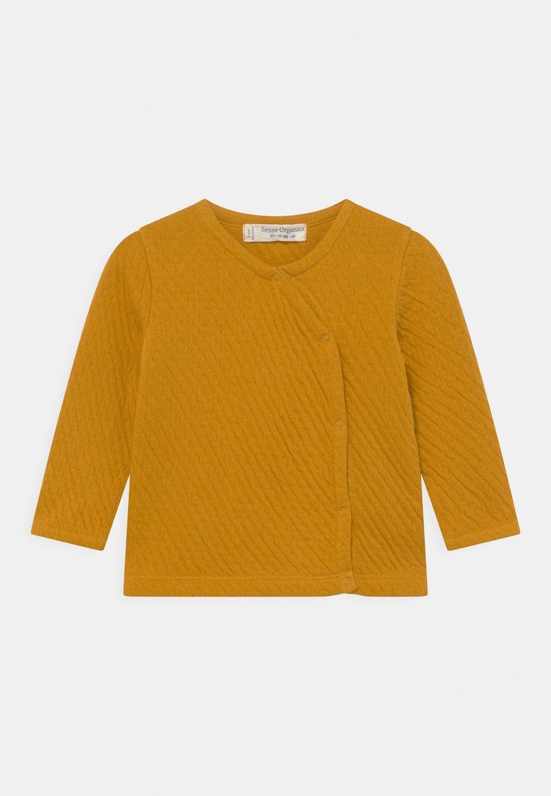 Sense Organics - YURI BABY WRAP UNISEX - Cardigan - mustard