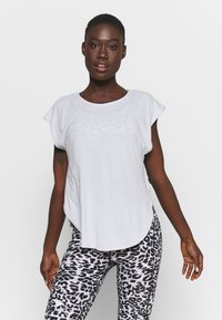 Cotton On Body - ACTIVE SCOOP HEM - T-shirt basic - grey marle - 0